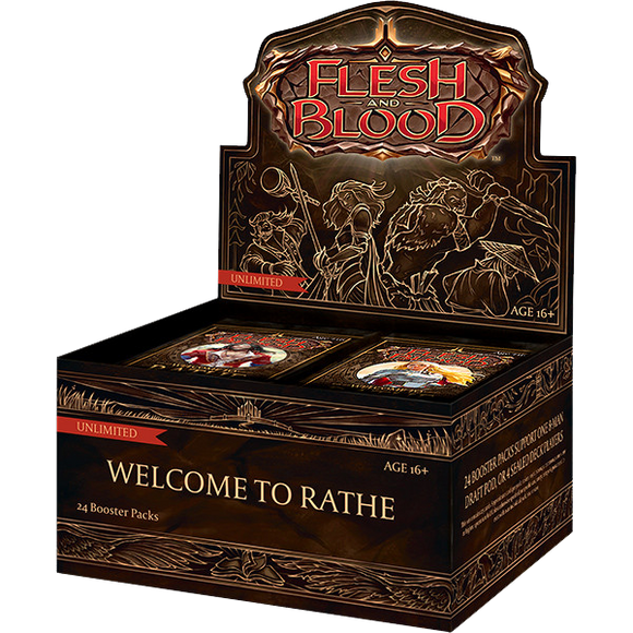 Flesh And Blood: Welcome To Rathe - Booster Box