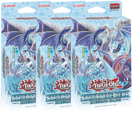 ▲ PREORDER ▲ Yu-Gi-Oh! Freezing Chains Structure Deck x3 ▲ PREORDER ▲