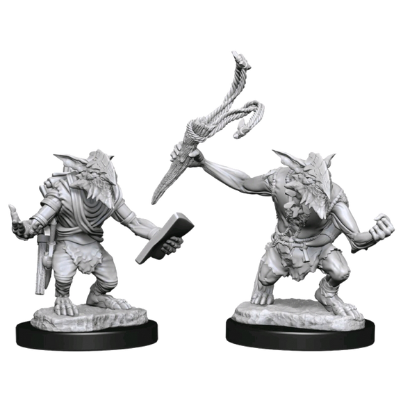 Unpainted Magic Miniatures - Goblin Guide & Goblin Bushwhacker