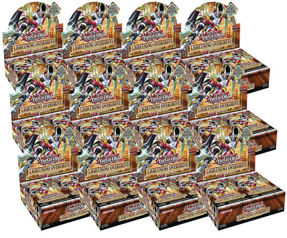 ▲ PREORDER ▲ Yu-Gi-Oh! Lightning Overdrive - Case ▲ PREORDER ▲