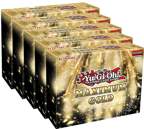 ▲ PREORDER ▲ Yu-Gi-Oh! Maximum Gold - 1 Display ▲ PREORDER ▲