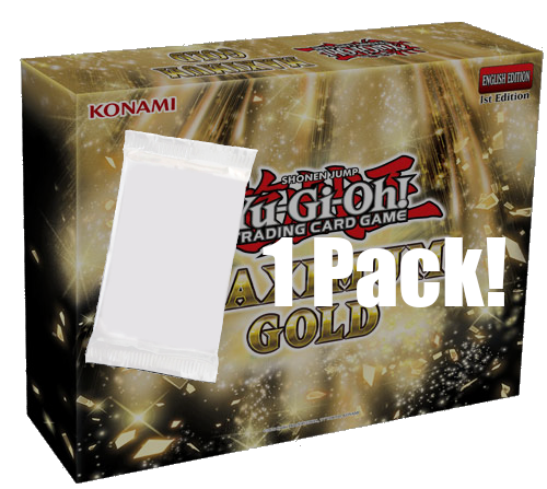 ▲ PREORDER ▲ Yu-Gi-Oh! Maximum Gold - 1 Pack ▲ PREORDER ▲