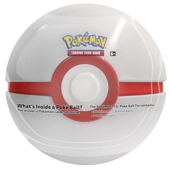◄ PREORDER ► Pokemon: 2021 Pokeball Tin - Premier Ball ◄ PREORDER ►
