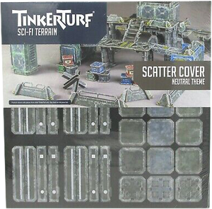 Tinker Turf Sci-Fi Terrain: Scatter Cover - Neutral Theme