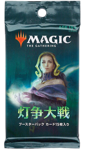 Magic: The Gathering: War Of The Spark - Japanese - Pack