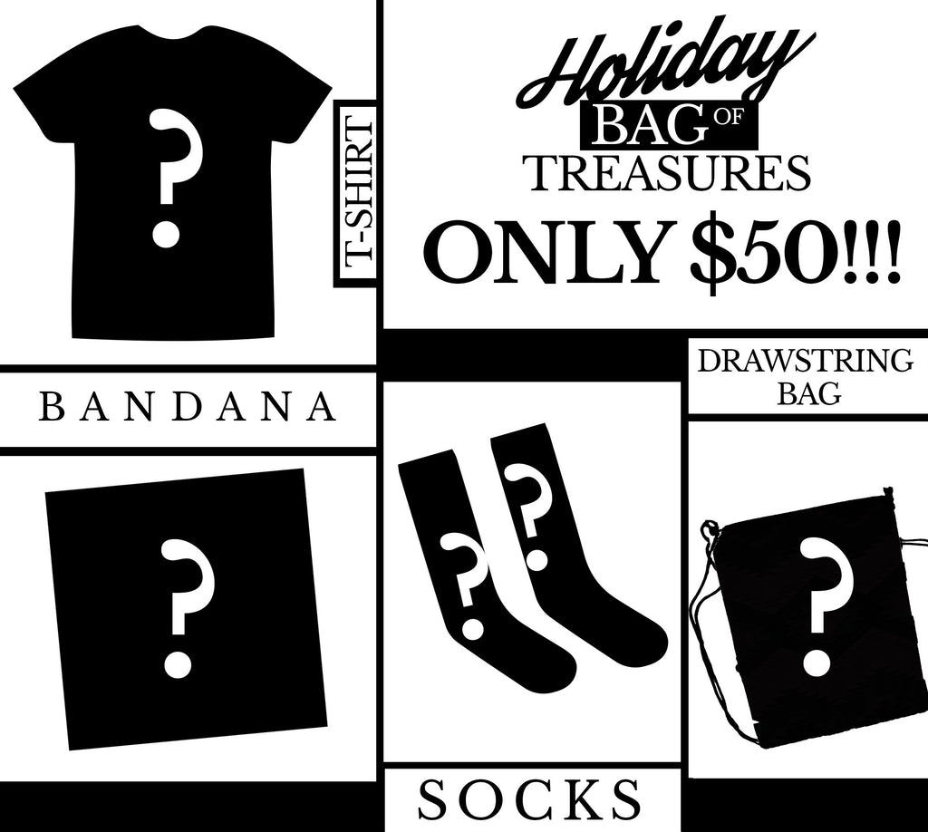 Our Holiday Bag O' Treasure is here!