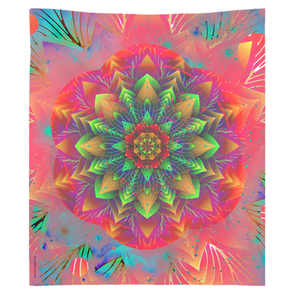 """Inverted Flow"" Tapestry by DSQISE"