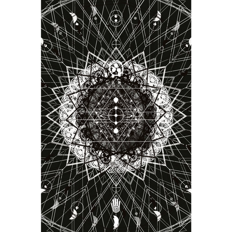 """Find Your Place Mandala"" Print by DSQISE"