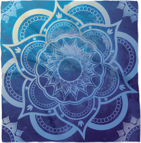 Blue Galaxy Bandanna