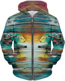 """Sunrise Of Your Mind"" Hoodie by Artful Rose"