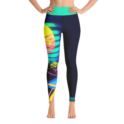 """Pulse Grid"" Yoga Leggings"
