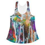 """Sunrise Of Your Mind"" Women's Racerback by Artful Rose"