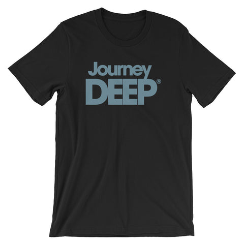 "Journey Deep ""Blue Steel"" Men's T-Shirt"