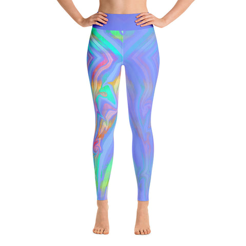 """Disco Bus"" Yoga Leggings by DSQISE"