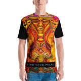 """The Winged Sphinx Daylight"" Men's Cut & Sew T by Pher01"