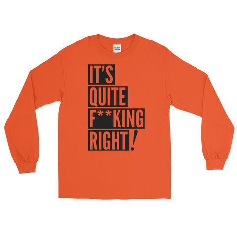 QFR Orange Long Sleeve