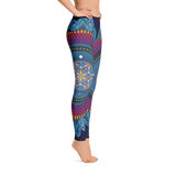 """Sol Mandala"" Leggings by Mynus"