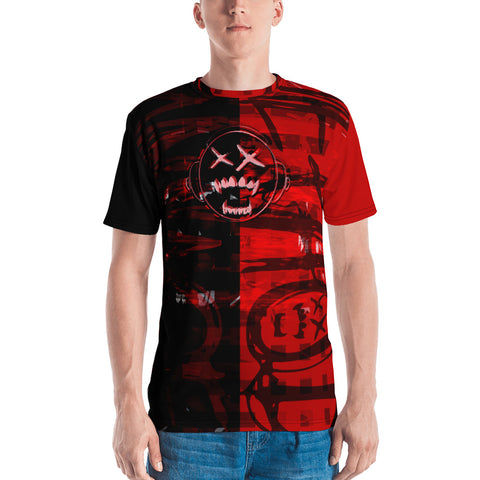 Pwnage Method - Split Screen Red Tee