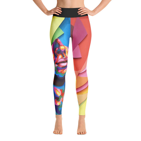 """Beyond Dreams"" Yoga Leggings by Detour"