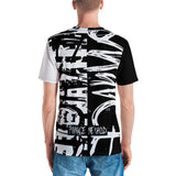 Pwnage Method - Split Screen B&W Tee