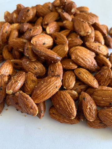 Honey Sriracha Almonds