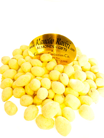 Sweet Lemon Almonds
