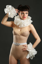 Load image into Gallery viewer, Silk Circus Costume Sets with Belt ruffle and cuffs