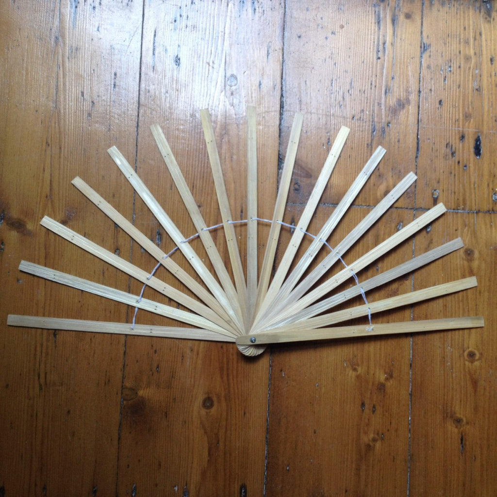 10 12 16 inch Burlesque Fan Staves