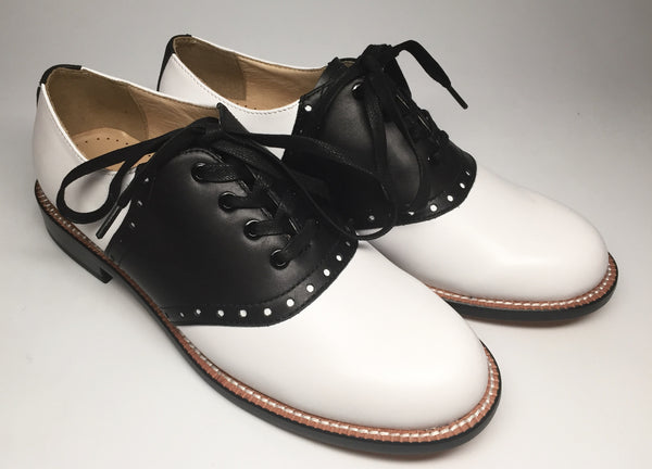 Saddle Oxford, Oxfords - Re-Mix Vintage Shoes