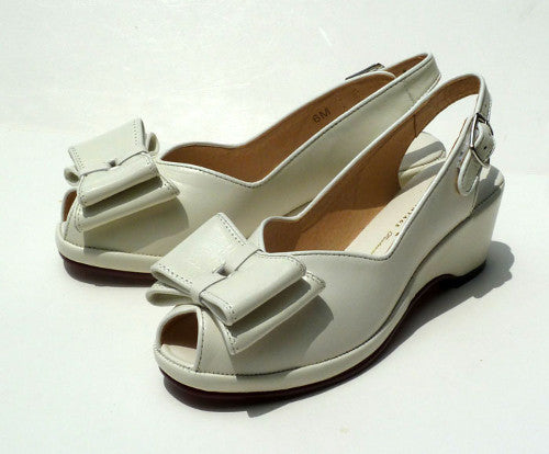 Gloria, Wedges - Re-Mix Vintage Shoes