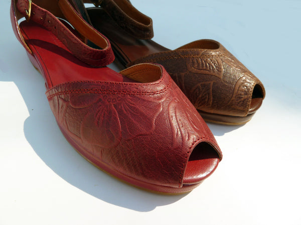 Malaga, Wedges - Re-Mix Vintage Shoes