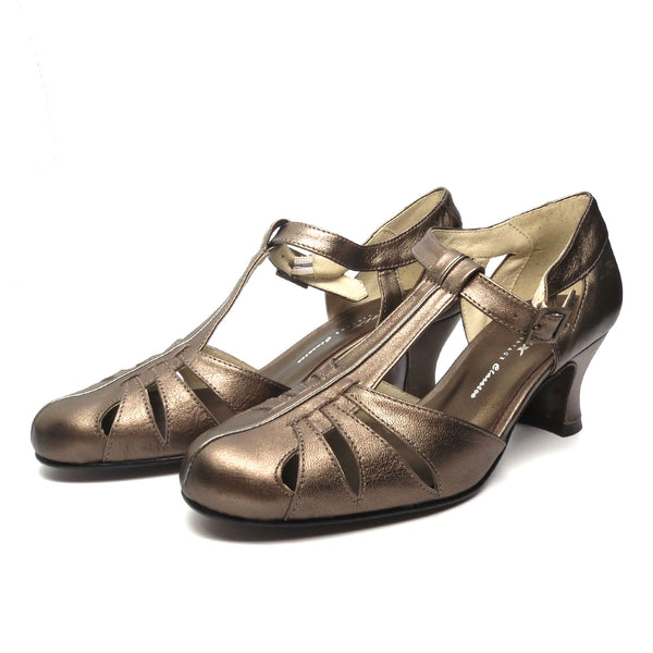 Balboa Metallics, Heels - Re-Mix Vintage Shoes
