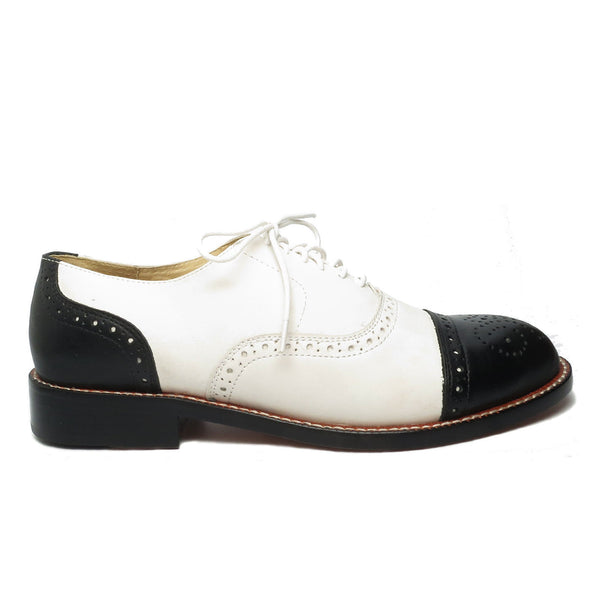Cap Toe, Oxfords - Re-Mix Vintage Shoes
