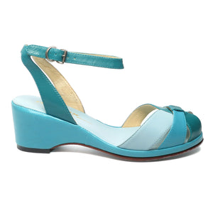 Capri, Wedges - Re-Mix Vintage Shoes