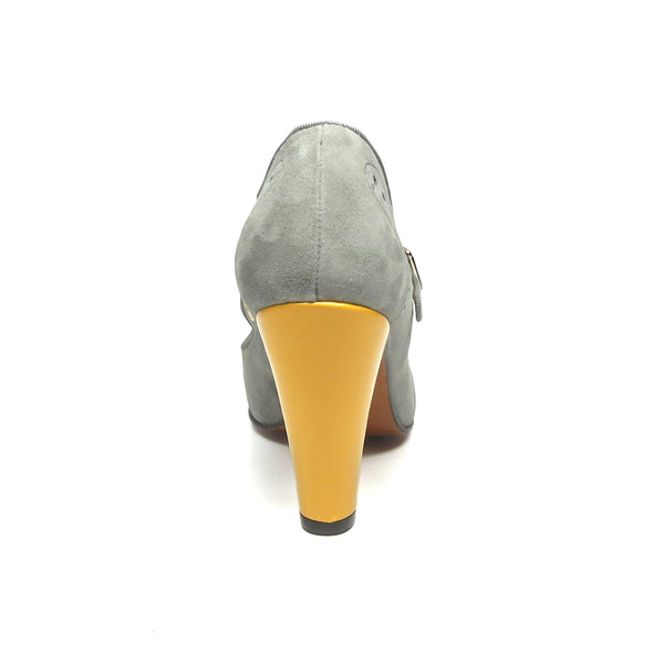 Cloche, Heels - Re-Mix Vintage Shoes