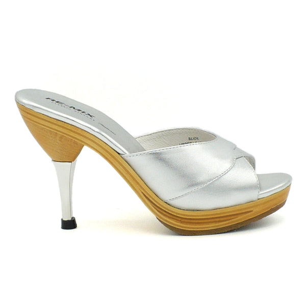 Hollywood Stilettos Slide, Heels - Re-Mix Vintage Shoes