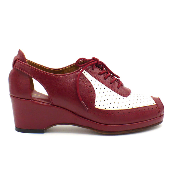 Spectator, Wedges - Re-Mix Vintage Shoes