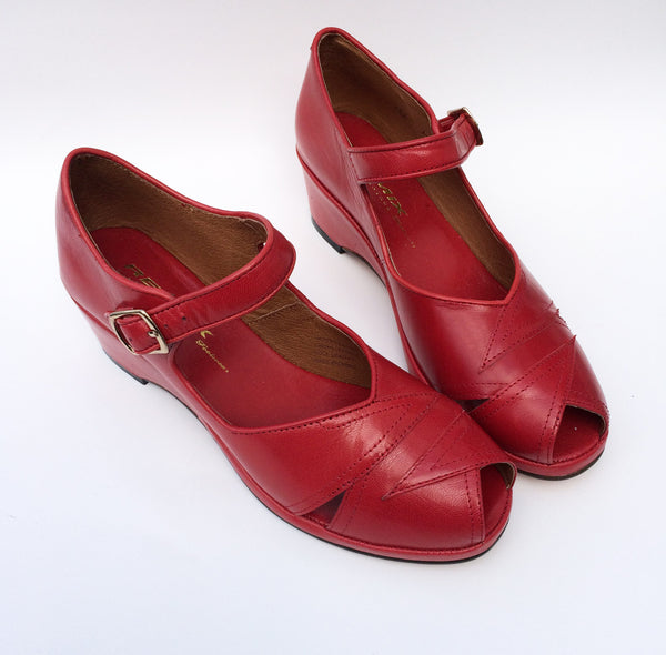 Lindy, Wedges - Re-Mix Vintage Shoes