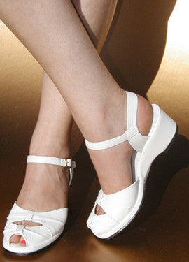 Pleated Toe, Wedges - Re-Mix Vintage Shoes