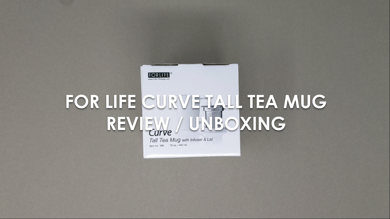 ForLife Curve Tall Tea Mug Review / Unboxing