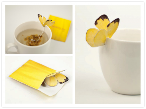 Butterfly Teabags