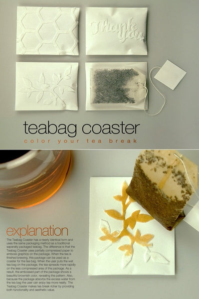 Tea bag coaster
