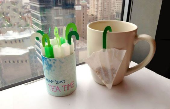 Umbrella Tea bags