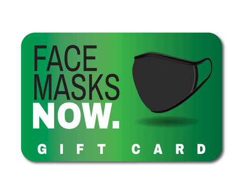 Face Masks Now Gift Card