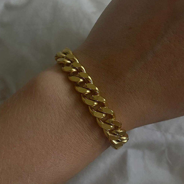 Chantell Cuban Chain Bracelet