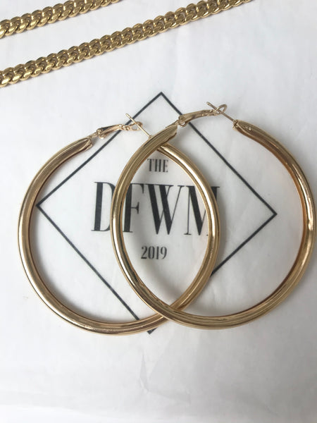 LaToya Hoop Earrings