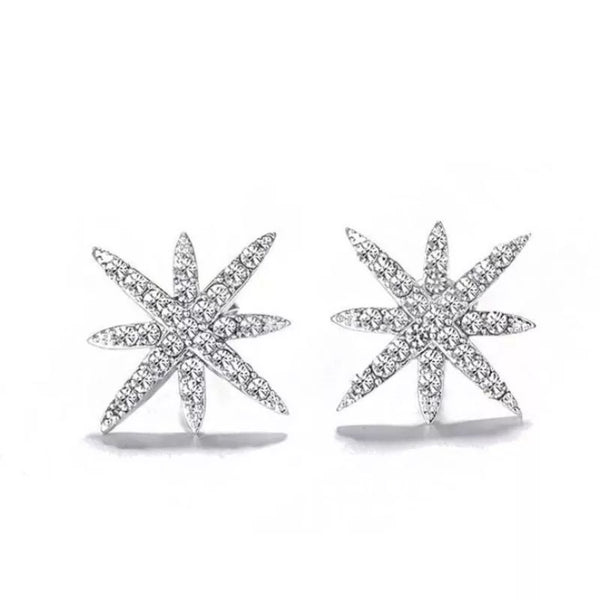 Leoni Star Sterling Silver Earring