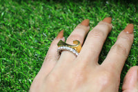 Dora Gold Plated Ring