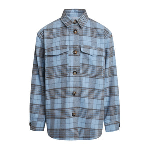 NIPPY SHIRT - NAVY CHECK