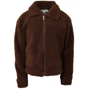 Teddy jacket - Mocha